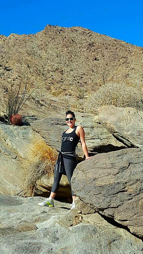 Carin Hiking