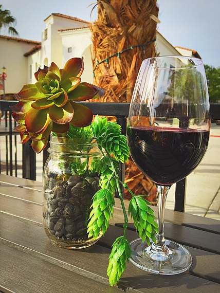 Wine and Greenery