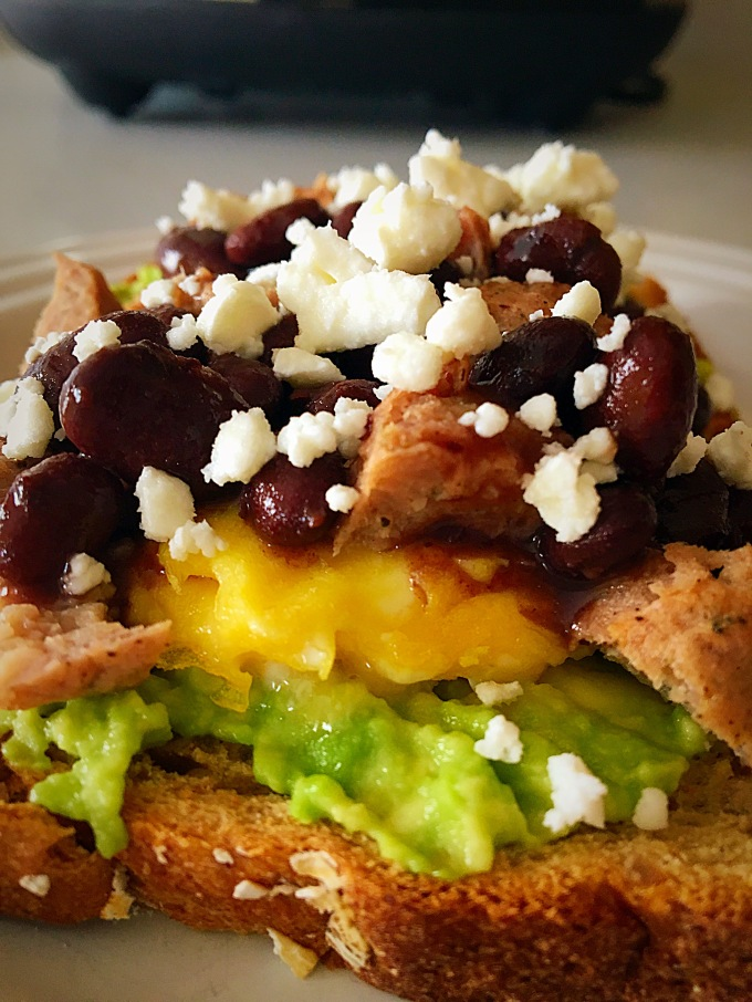 Huevos Rancheros Breakfast Toast Final