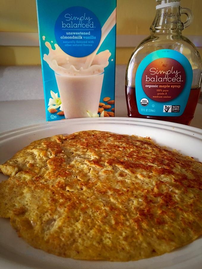 Paleo Banana Pancake Syrup Almond Milk