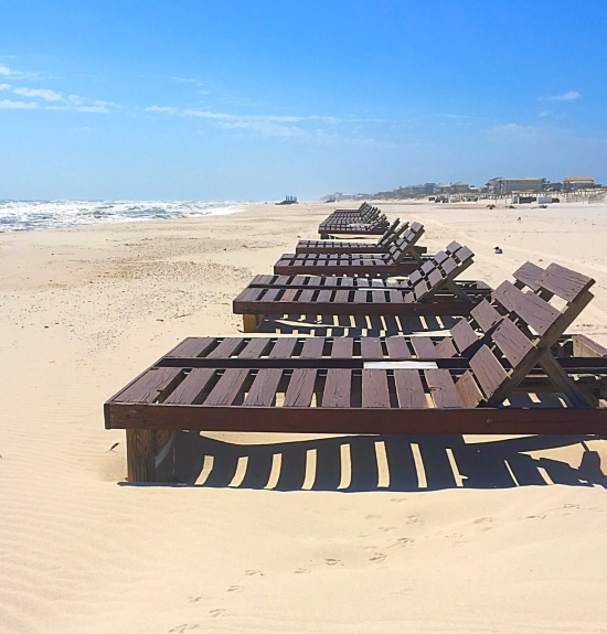 Empty Chairs Alabama Beaches