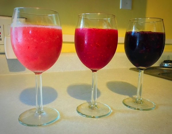 Wine Slushies Indoors