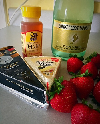 Strawberry Champagne Ingredients